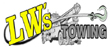 LW's Towing logo