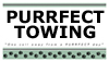 Purrfect Towing Logo